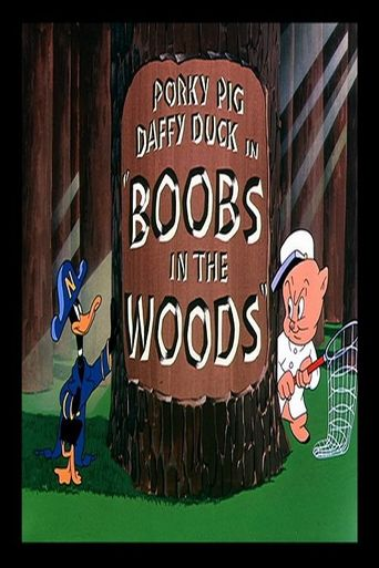 Boobs in the Woods Poster