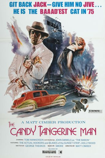 The Candy Tangerine Man Poster