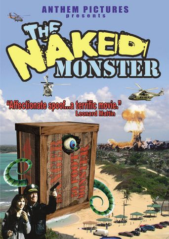 The Naked Monster Poster