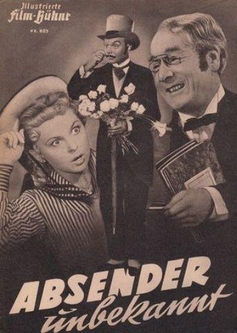 Absender unbekannt Poster