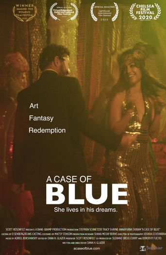 A Case of Blue Poster
