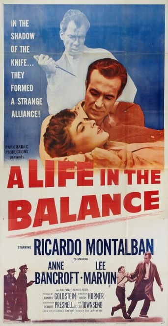 A Life in the Balance Poster