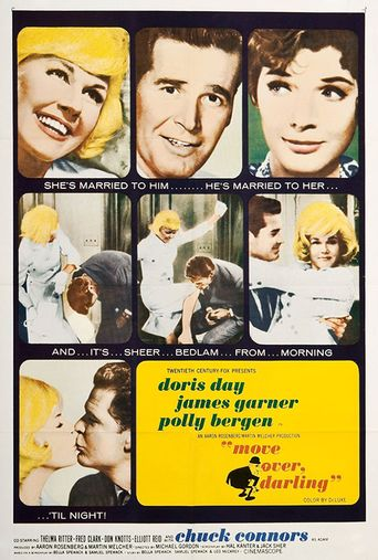 Move Over, Darling Poster