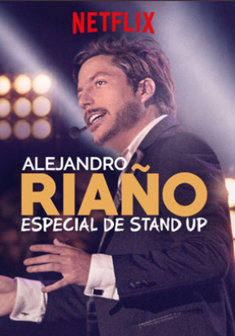 Alejandro Riaño: Especial de stand up Poster