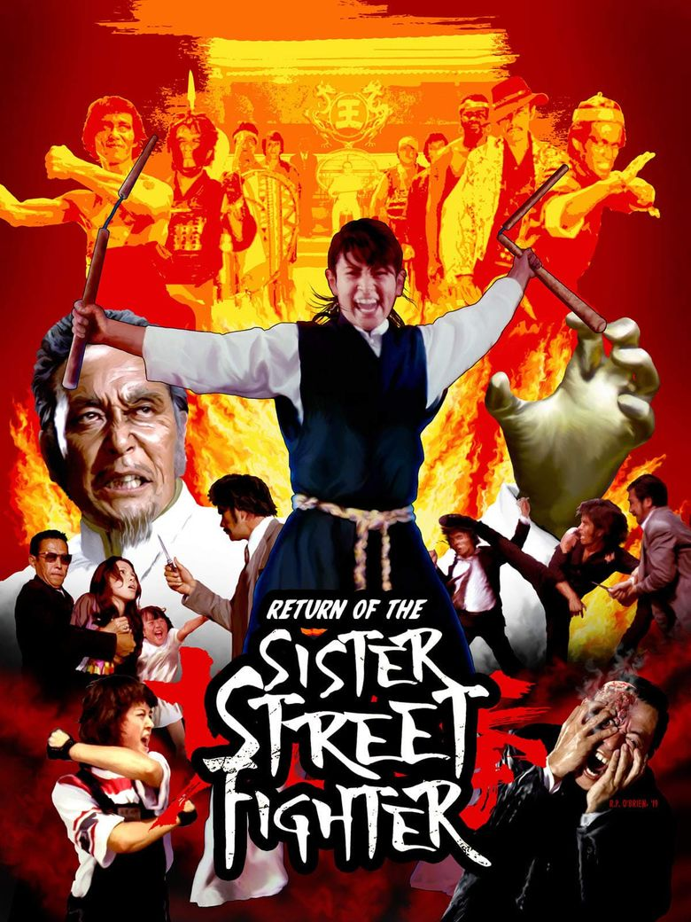 The Return of Sister Street Fighter Poster