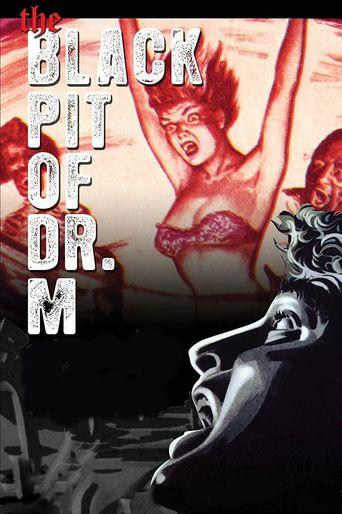 Black Pit of Dr. M Poster
