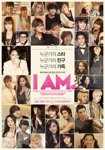 I AM. SMtown Live World Tour In Madison Square Garden Poster