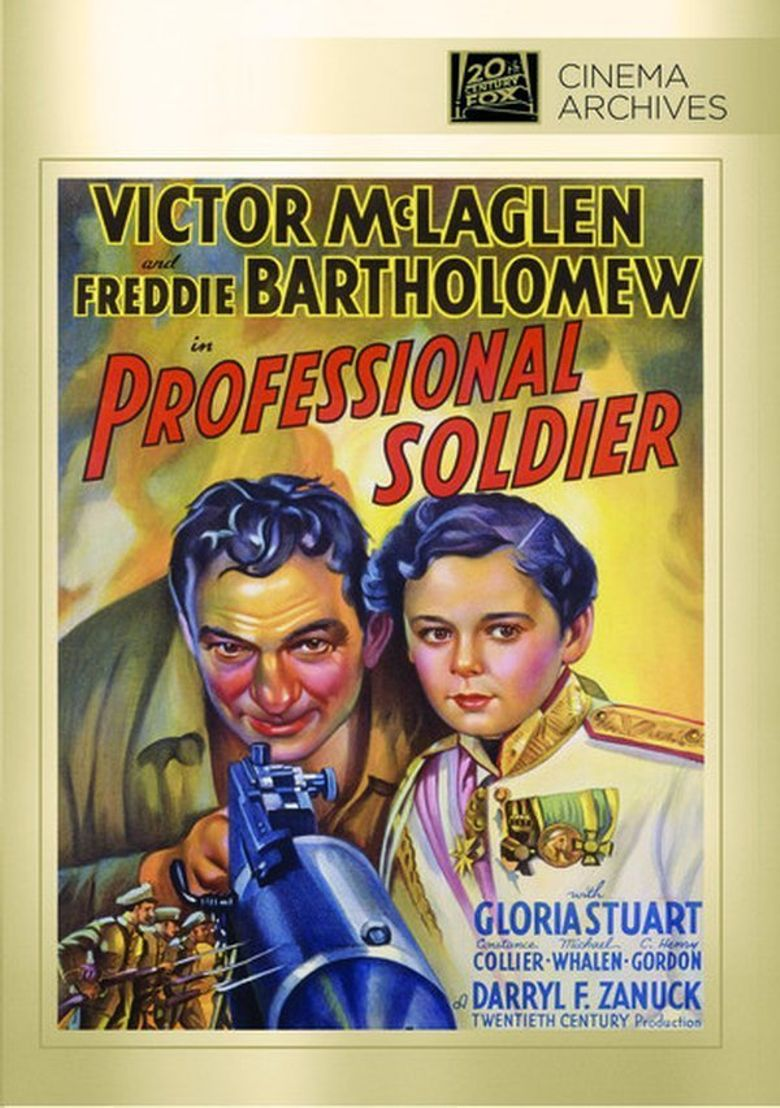 Professional Soldier Poster