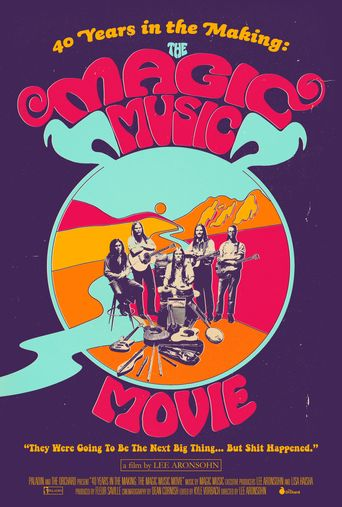 40 Years in the Making: The Magic Music Movie Poster
