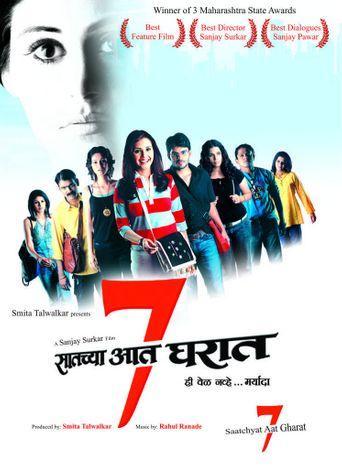 Saatchya Aat Gharat Poster