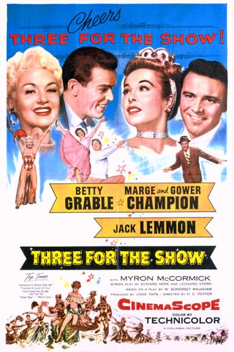 Three for the Show Poster