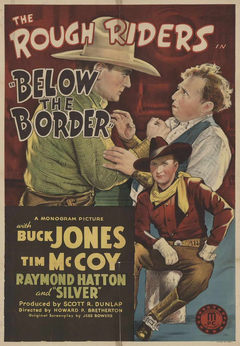 Below the Border Poster