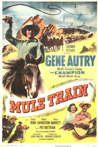 Mule Train Poster