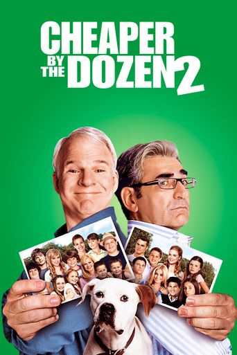 Cheaper by the Dozen 2 Poster