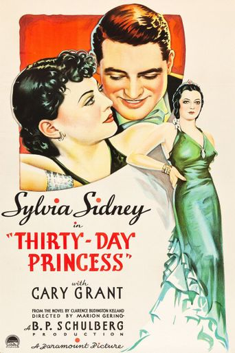 Thirty Day Princess Poster