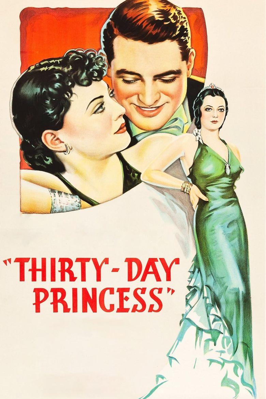 Thirty Day Princess Poster