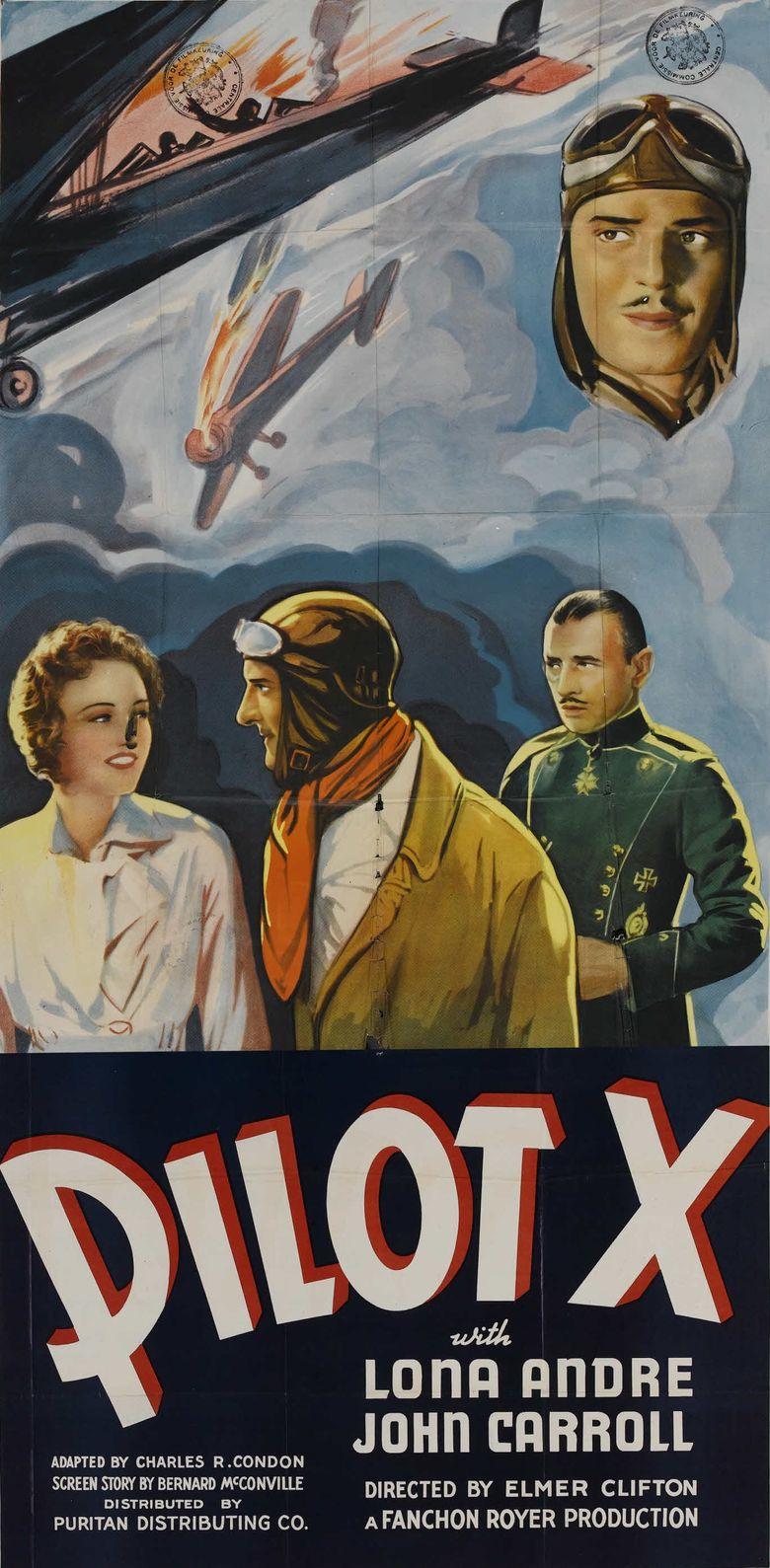 Pilot X Poster