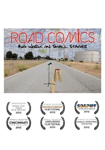 Road Comics: Big Work on Small Stages Poster