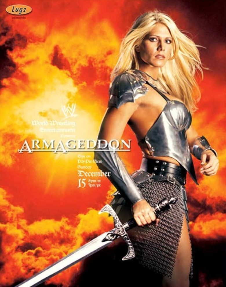 Image result for WWE Armageddon 2002 Poster