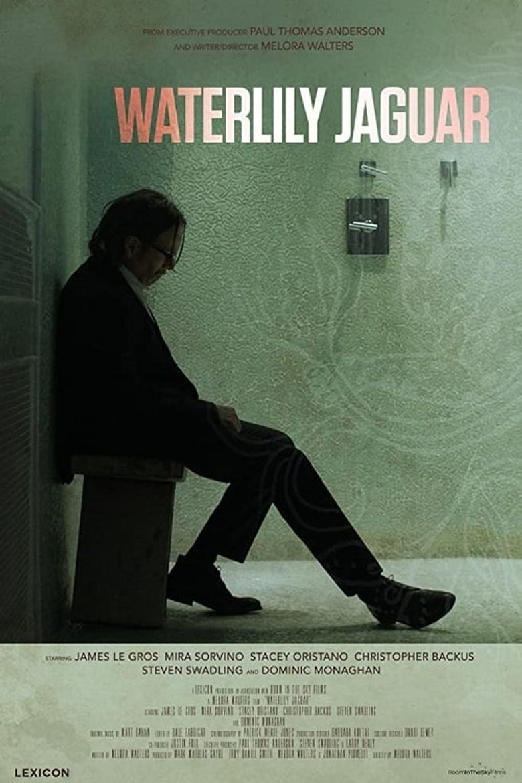 Waterlily Jaguar Poster