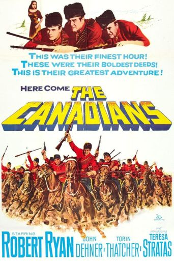 The Canadians Poster