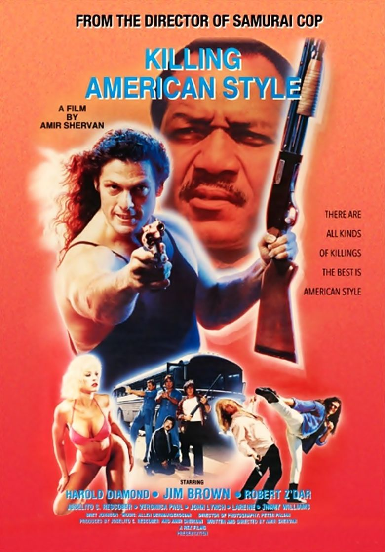 Killing American Style Poster