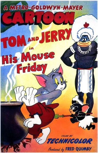 His Mouse Friday Poster