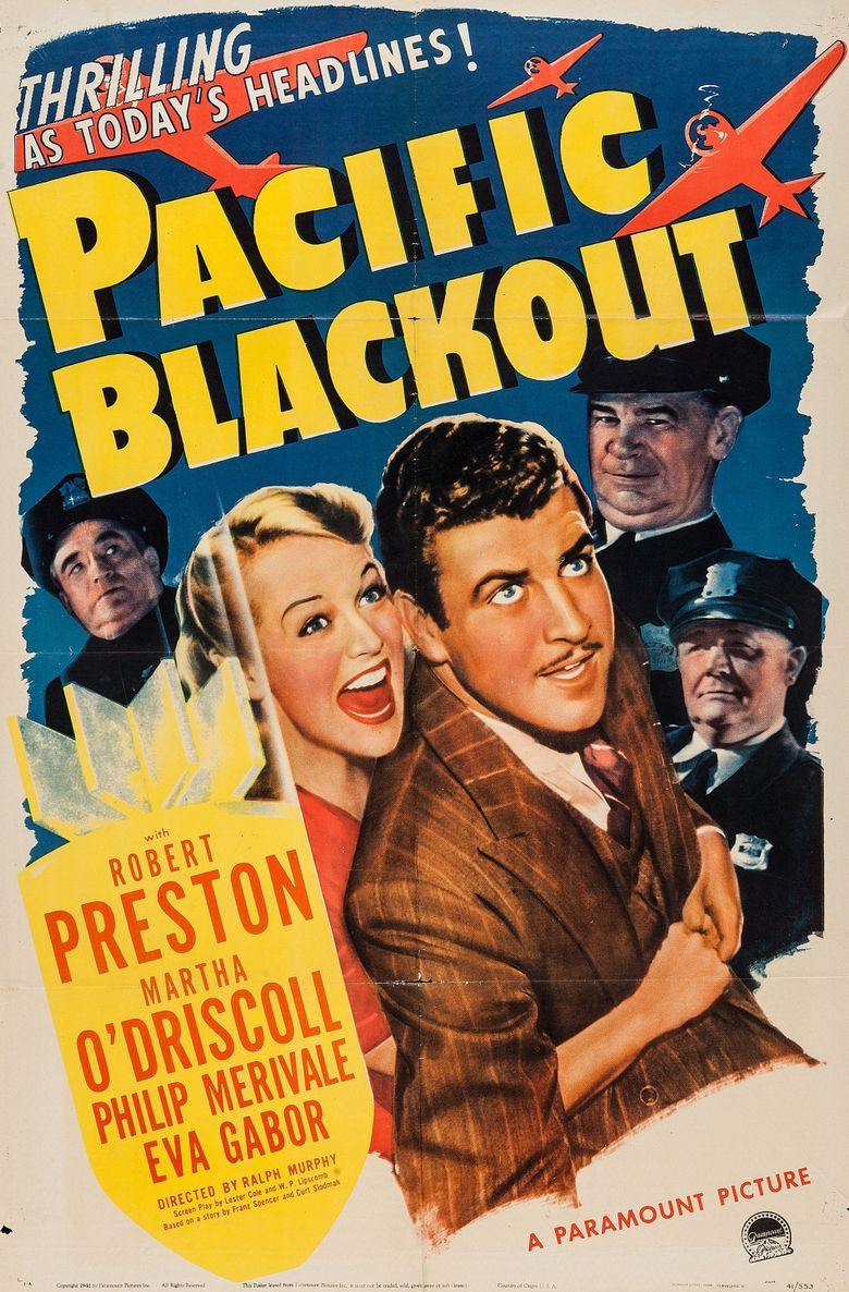 Pacific Blackout Poster