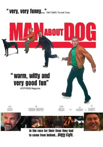 Man About Dog Poster