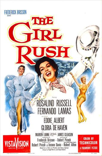 The Girl Rush Poster