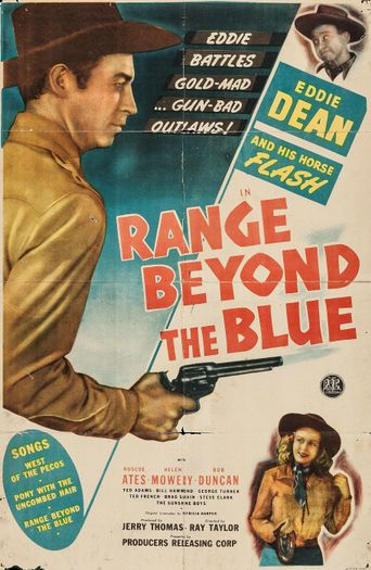 Range Beyond the Blue Poster