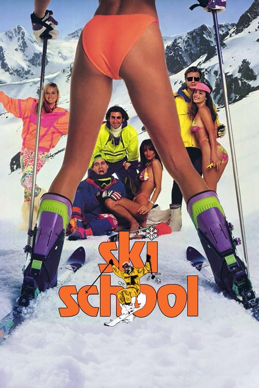 Ski School Poster