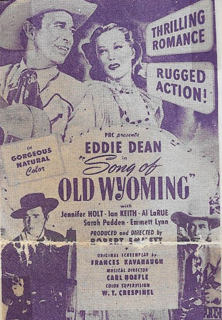 Song of Old Wyoming Poster