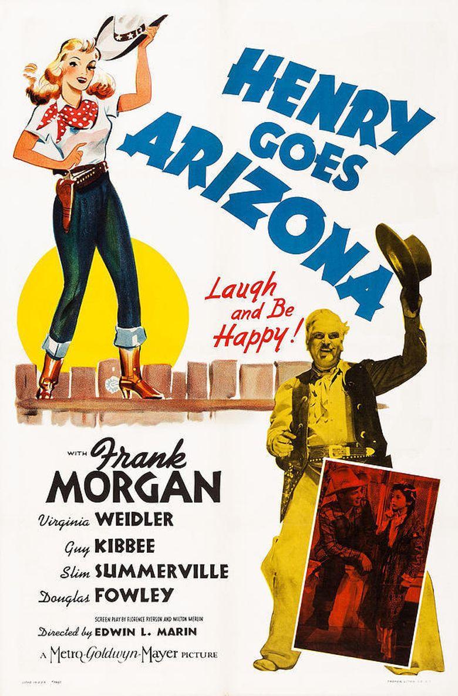 Henry Goes Arizona Poster