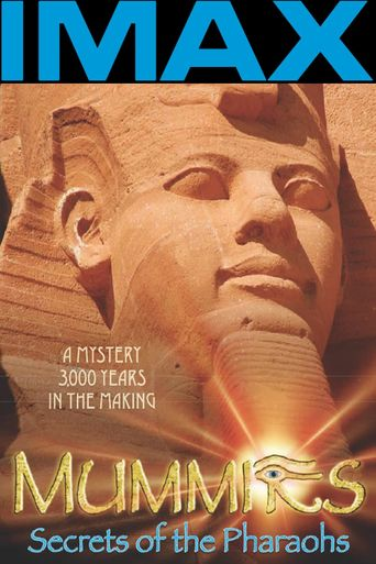 IMAX Mummies Secrets Of The Pharaohs Poster