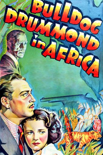 Bulldog Drummond in Africa Poster