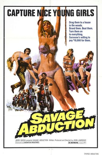 Savage Abduction Poster