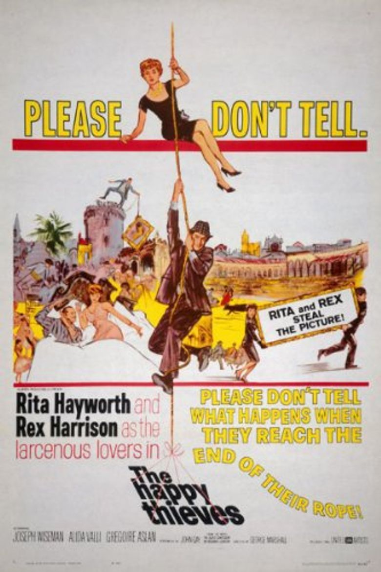 The Happy Thieves Poster