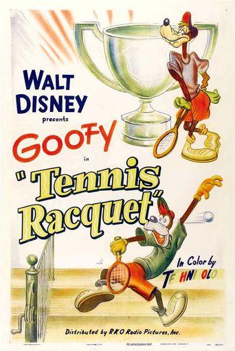 Tennis Racquet Poster