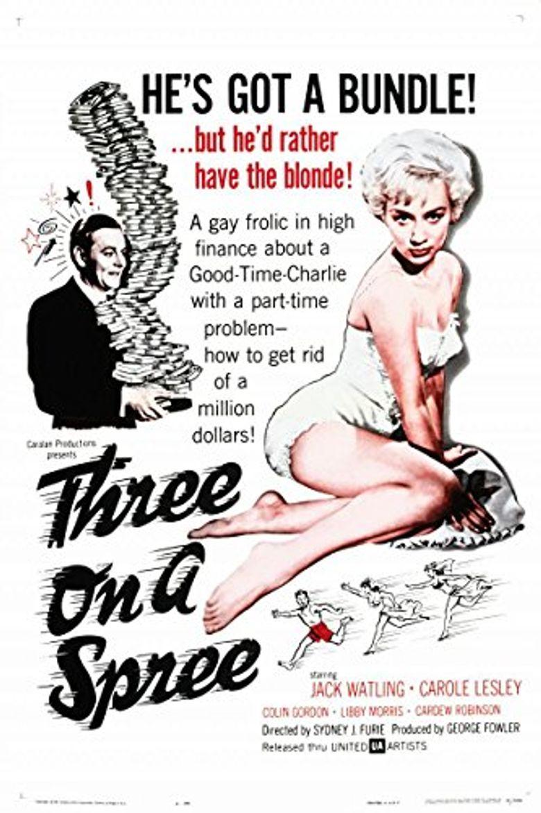 Three on a Spree Poster