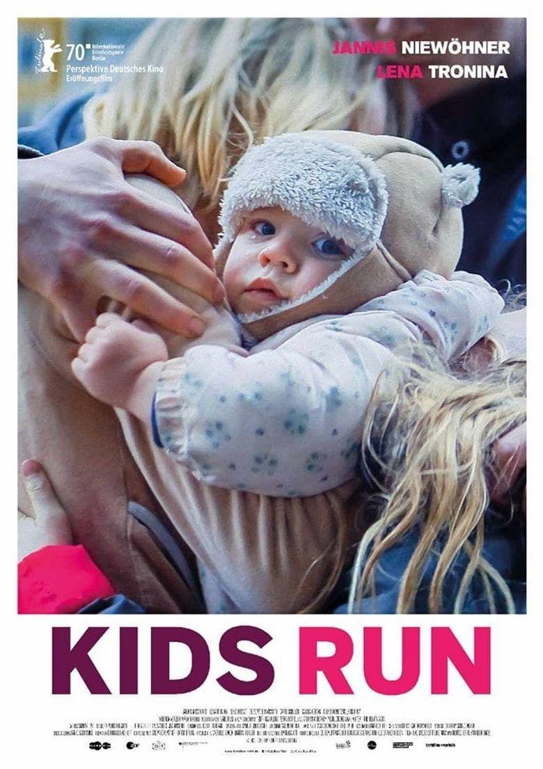 Kids Run Poster