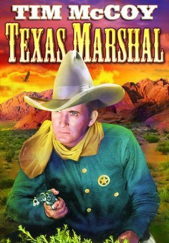 The Texas Marshal Poster