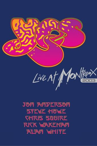 Yes: Live At Montreux 2003 Poster