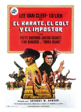 The Stranger and the Gunfighter Poster