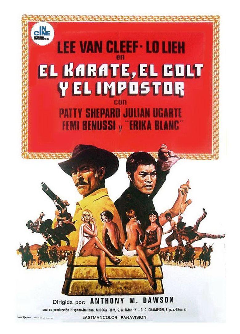 The Stranger and the Gunfighter Poster