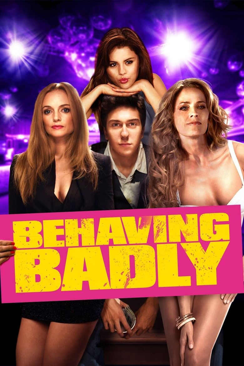 Behaving Badly Poster