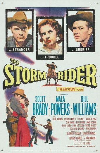 The Storm Rider Poster