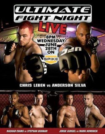 UFC Fight Night 5: Leben vs. Silva Poster