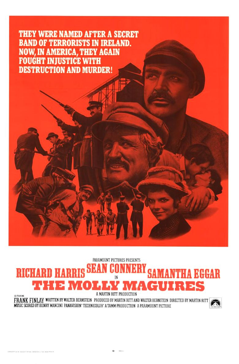 The Molly Maguires Poster