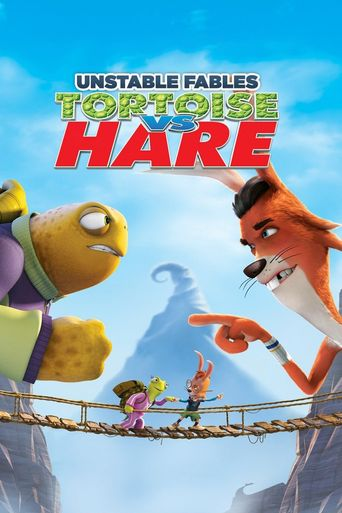 Unstable Fables: Tortoise vs. Hare Poster